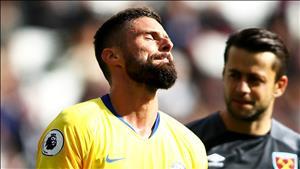 Giroud: Cac doi thu dang dan bat bai Chelsea