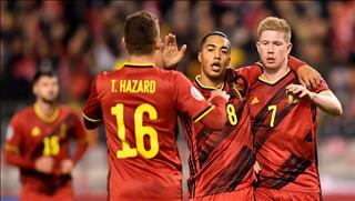 """Bỉ 6-1 Síp: Sức mạnh khủng khiếp của """"Quỷ đỏ"""""""