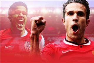 Robin van Persie: Toi biet on Arsenal va Manchester United