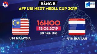 Kết quả U18 Malaysia 0-1 U18 Thái Lan (KT)