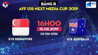 Kết quả U18 Úc 5-0 U18 Singapore (KT)