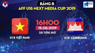 U18 Việt Nam 1-2 U18 Campuchia (KT): Thua sốc, U18 Việt Nam xứng đáng bị loại khỏi giải U18 Đông Nam Á 2019