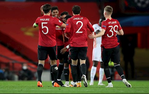 Sơ đồ kim cương của Man Utd trong trận thắng RB Leipzig (P2)