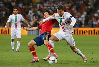 Xem lại Tây Ban Nha vs Bồ Đào Nha bán kết Euro 2012 (Full trận)