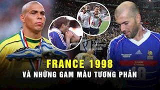 France 98: VCK World Cup cua nhung gam mau tuong phan