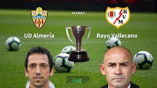 Nhận định bóng đá Almeria vs Vallecano 0h30 ngày 14/7 (Hạng 2 TBN 2019/20)