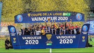 Đả bại Lyon sau màn đấu súng, PSG hoàn tất cú ăn ba quốc nội