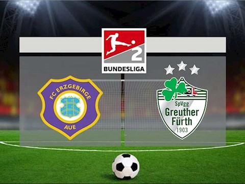 Nhận định bóng đá Aue vs Greuther Furth 23h30 ngày 25/9 (Hạng 2 Đức 2020/21)