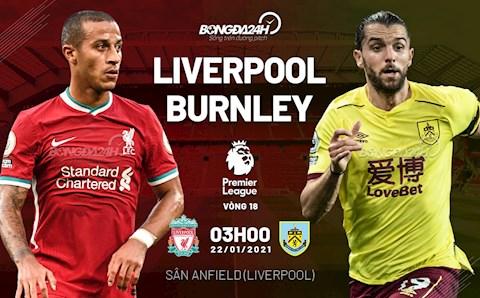 Nhận định Liverpool vs Burnley (3h ngày 22/1): Khó cũng phải thắng!