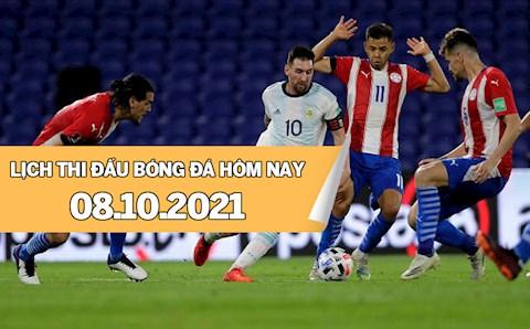 Lịch thi đấu bóng đá hôm nay 8/10: Paraguay vs Argentina; Đức vs Romania