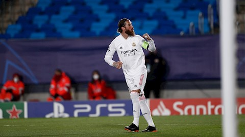 Ramos vượt thành tích ghi bàn của Zidane, tiệm cận kỷ lục Champions League