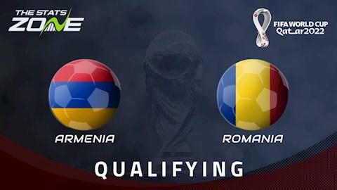 Nhận định bóng đá Armenia vs Romania 23h00 ngày 31/3 (Vòng loại World Cup 2022)