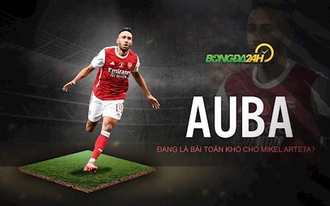 VIDEO: Aubameyang đang là bài toán khó cho Mikel Arteta?