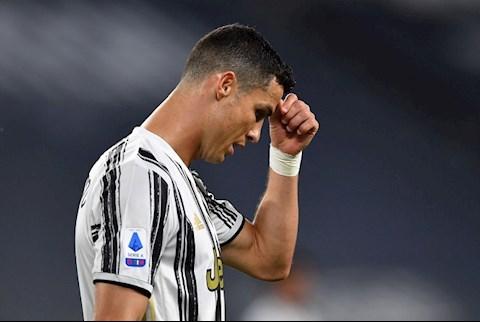 Cristiano Ronaldo vừa có trận đấu tệ nhất trong màu áo Juventus