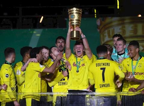 Song sát Sancho vs Haaland chói sáng, Dortmund đoạt cúp quốc gia Đức 2020/21