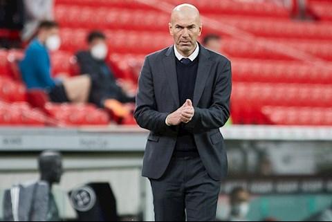 HLV Zidane phủ nhận thông tin rời Real Madrid vào cuối mùa giải 2020/21