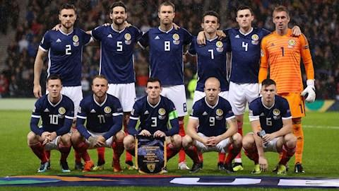 Danh sách chính thức của đội tuyển Scotland tham dự VCK Euro 2020