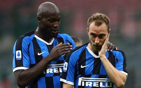 Eriksen đã trở lại Inter