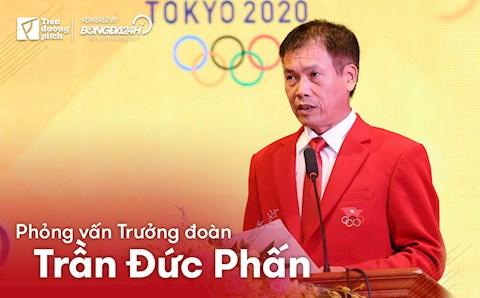 Trưởng đoàn Trần Đức Phấn: Các VĐV tham dự Olympic đều có phong độ cao