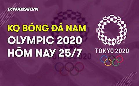 KQBD nam Olympic Tokyo 2020 hôm nay 25/7: Tiếp tục những bất ngờ?!