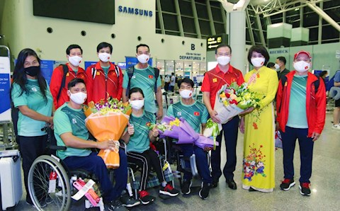 Đoàn Thể thao Người khuyết tật Việt Nam lên đường dự Paralympic 2020