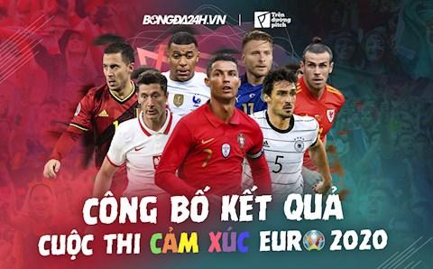 """Công bố kết quả cuộc thi """"Cảm xúc Euro 2020"""""""