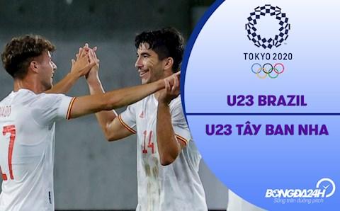 Video tổng hợp Brazil 2-1 Tây Ban Nha (Chung kết BĐ nam Olympic 2020)