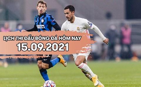 Lịch thi đấu bóng đá hôm nay 15/9: Liverpool vs AC Milan; Inter Milan vs Real Madrid