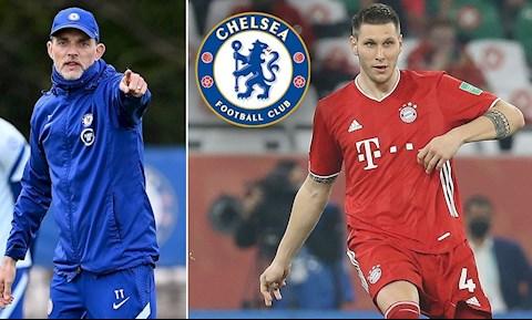 Chelsea nhận tin vui vụ trung vệ Niklas Sule