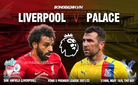 Nhận định Liverpool vs Crystal Palace (21h00 ngày 18/9): Anfield lại là pháo đài kiên cố