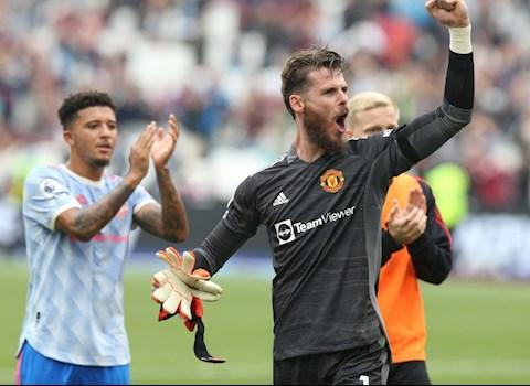 De Gea khiêm tốn sau khi cản phá penalty trước West Ham