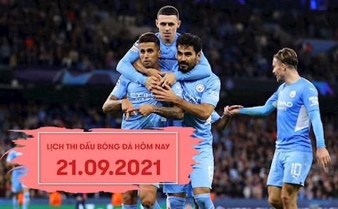 Lịch thi đấu bóng đá hôm nay 21/9: Man City vs Wycombe; Norwich vs Liverpool
