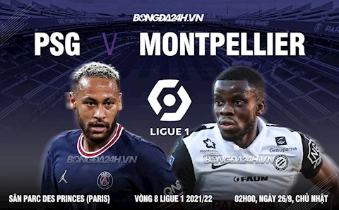 Nhận định PSG vs Montpellier (2h00 ngày 26/9): Rung đùi chờ City