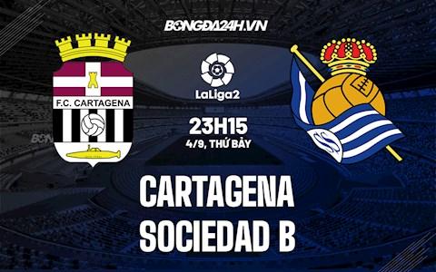 Nhận định Cartagena vs Sociedad B 23h15 ngày 4/9 (Hạng 2 TBN 2021/22)
