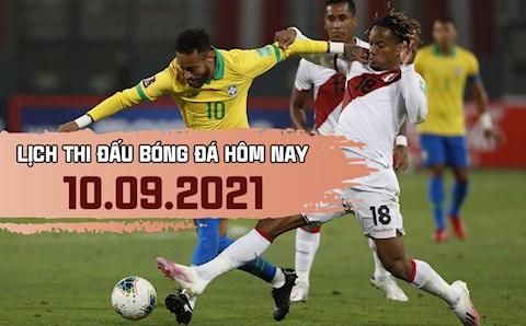 Lịch thi đấu bóng đá hôm nay 10/9: Brazil vs Peru; Argentina vs Bolivia