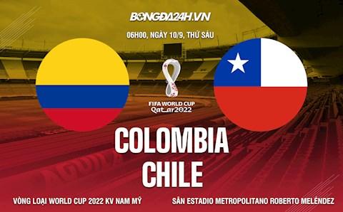 Nhận định, dự đoán Colombia vs Chile 6h00 ngày 10/9 (Vòng loại World Cup 2022)