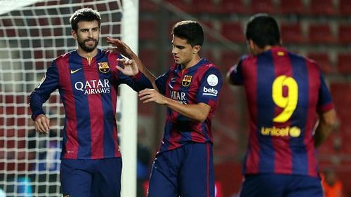 Barcelona - Celta Vigo (2h 02/11): Cơ hội của Pique, Bravo và Suarez