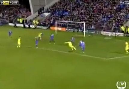 Chế cực hài cú sút vô duyên của Mohamed Salah (Chelsea) v Shrewsbury