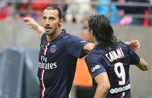 Cavani: Ibrahimovic xứng đáng giành Quả Bóng vàng FIFA 2014