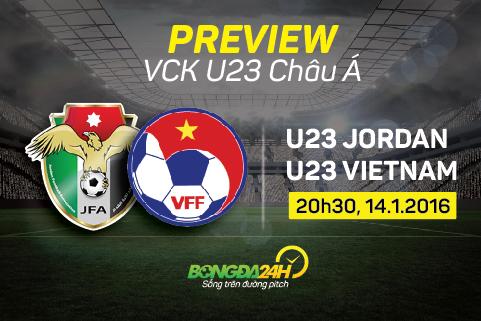 Preview: U23 Viet Nam - U23 Jordan