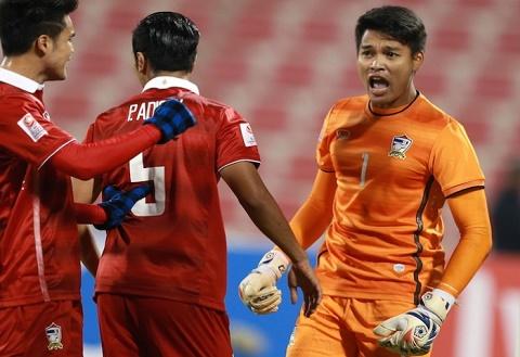 U23 Thai Lan gianh 1 diem may man truoc U23 Saudi Arabia