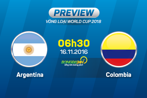 Argentina vs Colombia (6h30 ngay 1611) Trong ca vao Messi hinh anh goc