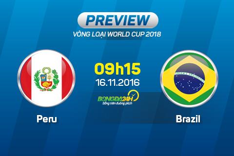 Peru vs Brazil (09h15 ngay 1611) Gach noi Tite-Dunga hinh anh goc