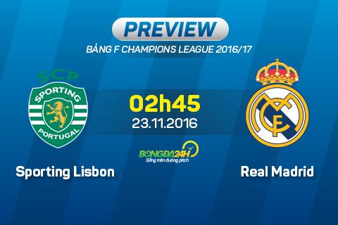 Sporting vs Real Madrid (2h45 ngay 2311) Moi con mat deu huong ve Ronaldo hinh anh goc