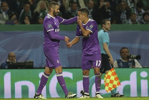 Du am Sporting 1-2 Real Lai la dang cap va may man hinh anh goc 2