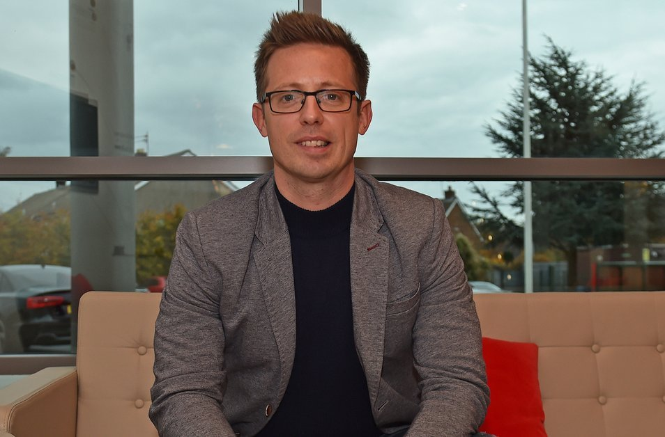 Giam doc the thao Liverpool Michael Edwards