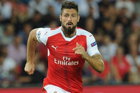 HLV Wenger moi Giroud gia han hop dong voi Arsenal hinh anh goc