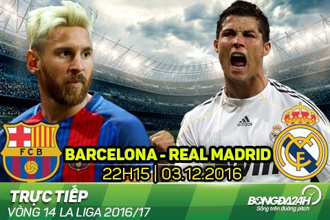 LINK XEM truc tiep Barca vs Real Madrid 22h15 ngay 312 (La Liga 201617) hinh anh goc