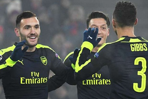 Arsenal so huu ban thang dong doi nhat Champions League hinh anh goc