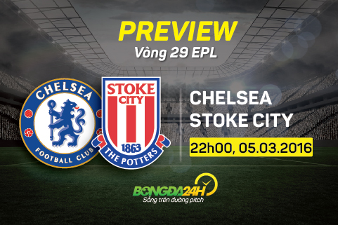 Preview: Chelsea - Stoke City